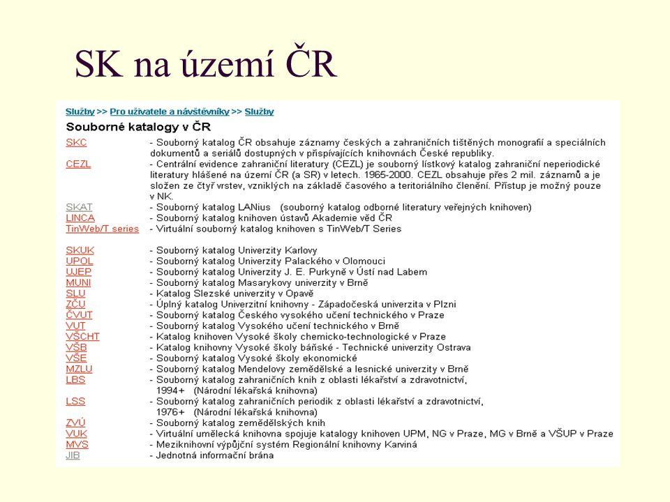 SK na území ČR