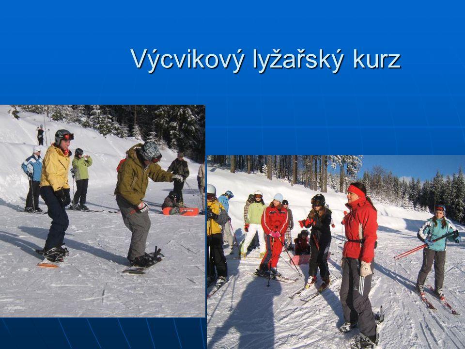 Výcvikový lyžařský kurz Výcvikový lyžařský kurz