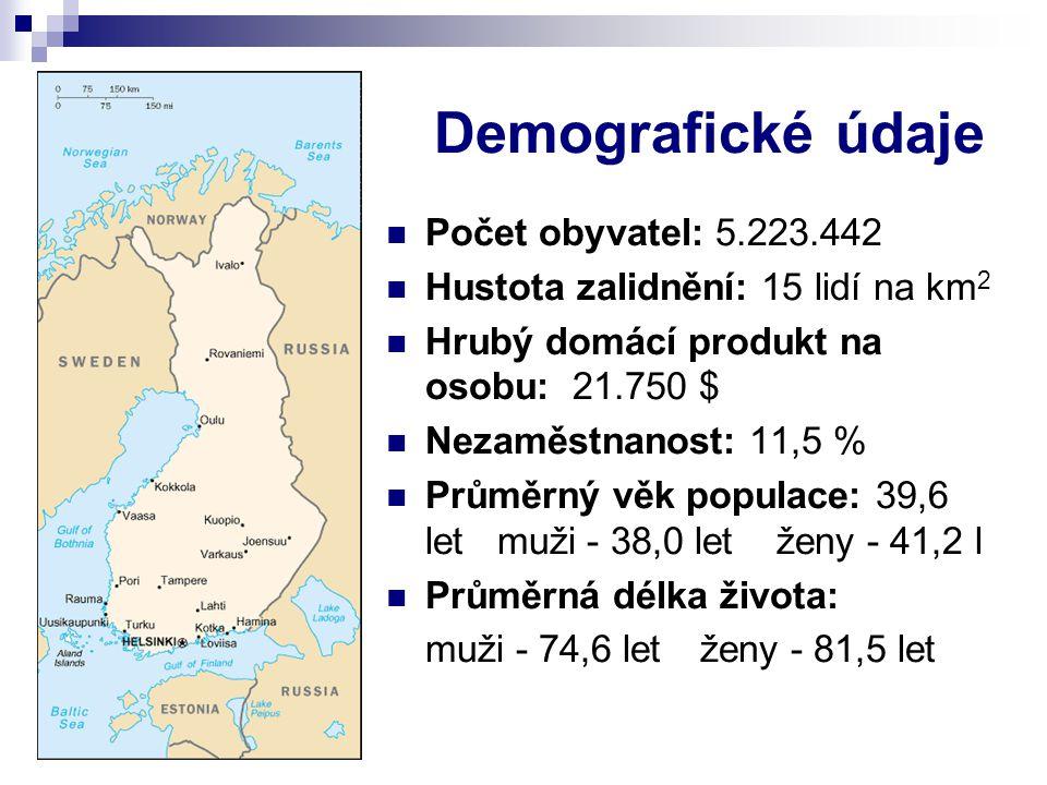 Demografické údaje Počet obyvatel: 5.223.442 Hustota zalidnění: 15 lidí na km 2 Hrubý domácí produkt na osobu: 21.750 $ Nezaměstnanost: 11,5 % Průměrn