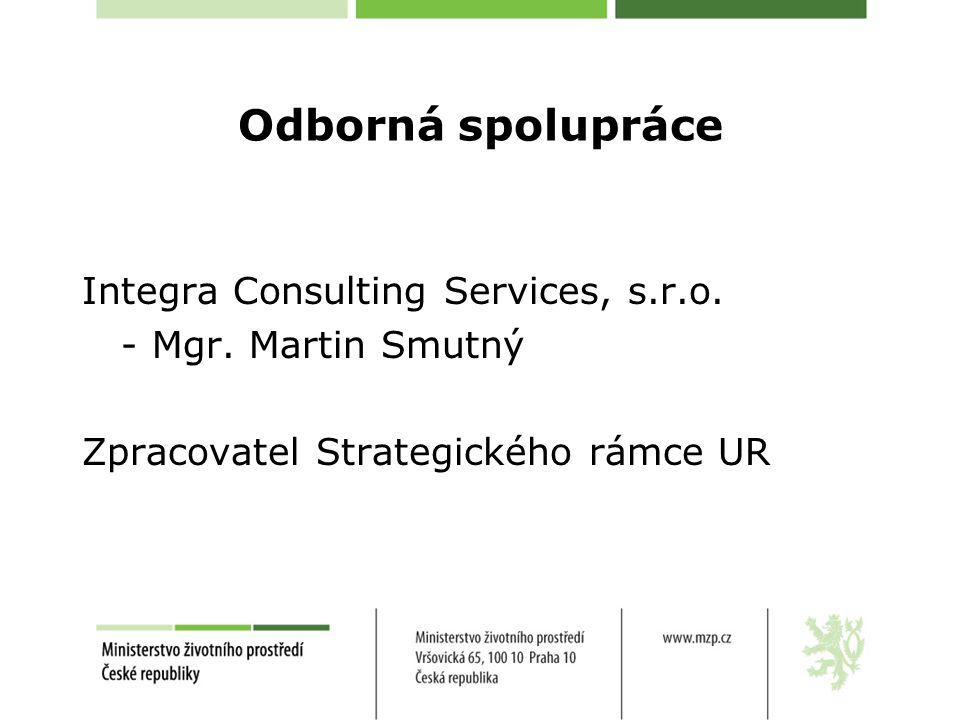 Odborná spolupráce Integra Consulting Services, s.r.o.