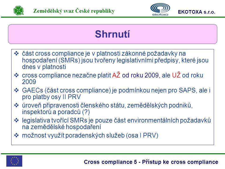Zemědělský svaz České republiky EKOTOXA s.r.o.