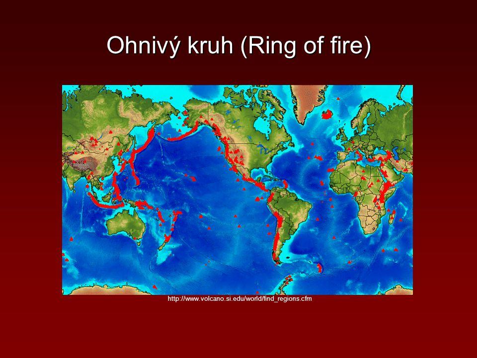 http://www.volcano.si.edu/world/find_regions.cfm Ohnivý kruh (Ring of fire)