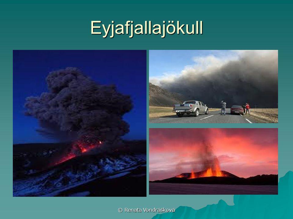 © Renata Vondrášková Eyjafjallajökull