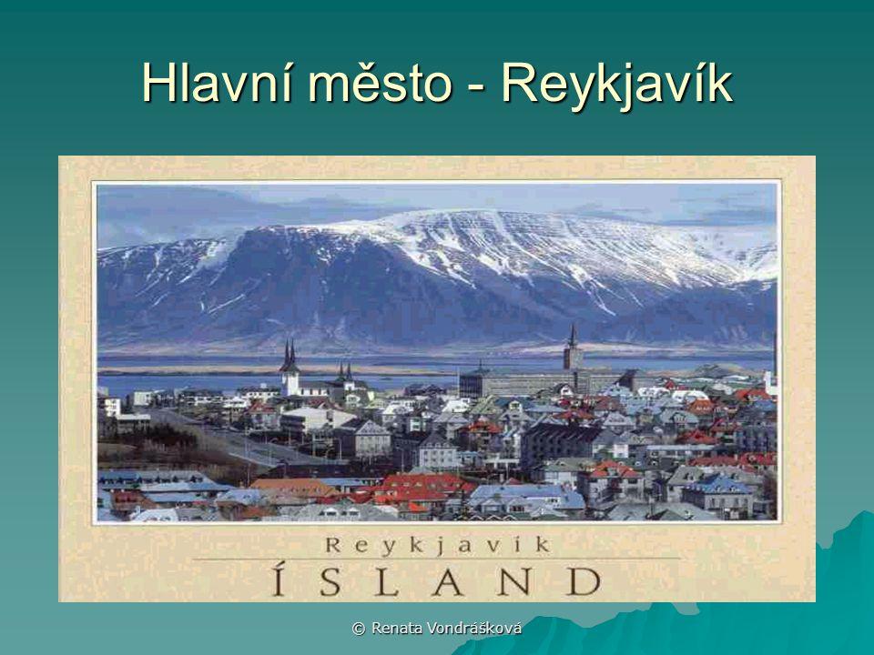 Hlavní město - Reykjavík