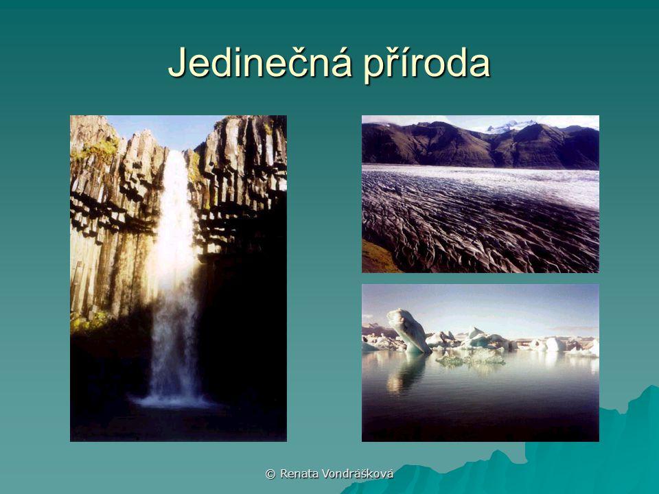 © Renata Vondrášková Jedinečná příroda