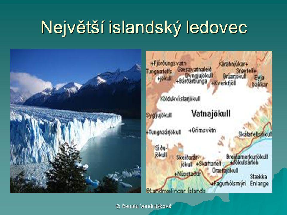 © Renata Vondrášková Největší islandský ledovec