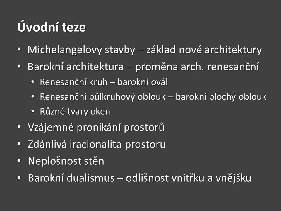 OTÁZKY A ÚKOLY Charakterizujte základní rysy barokní architektury.