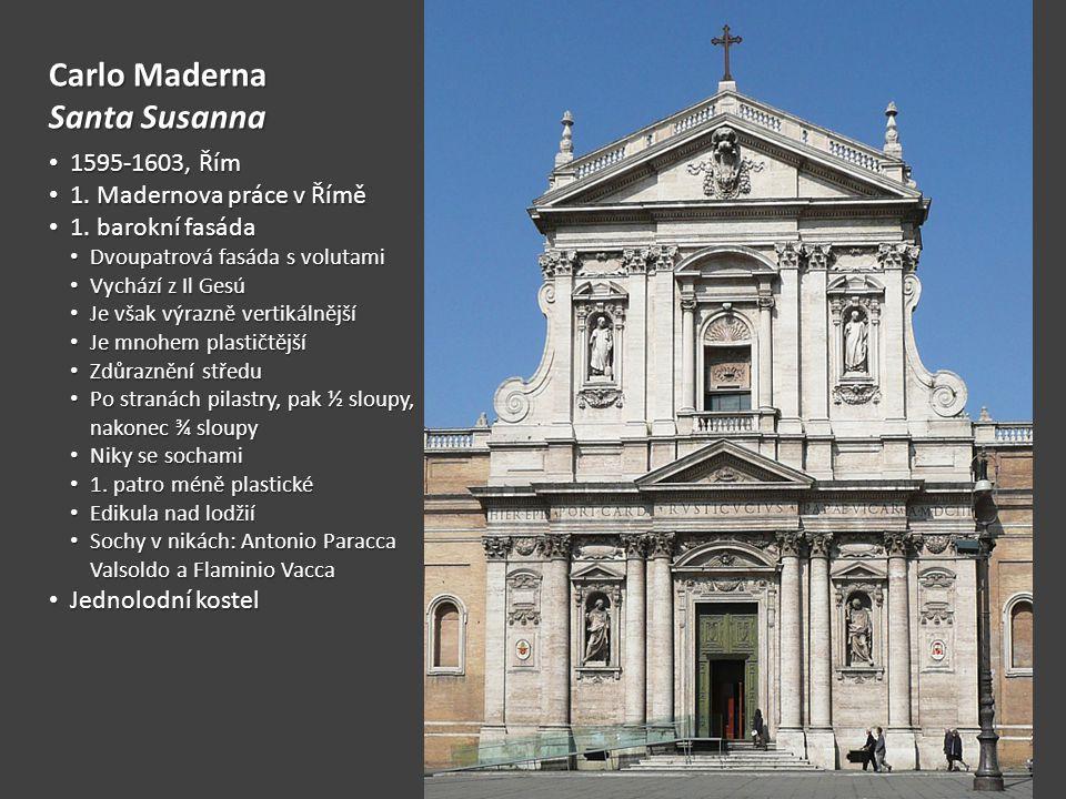 Carlo Maderna Fasáda chrámu sv.