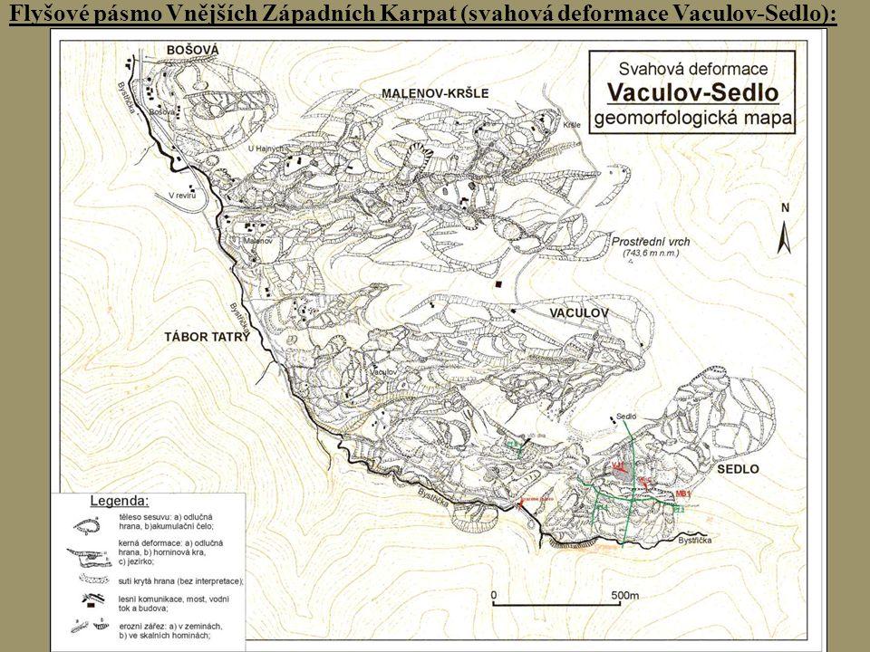 Naděje cave Flyšové pásmo Vnějších Západních Karpat (svahová deformace Kopce):