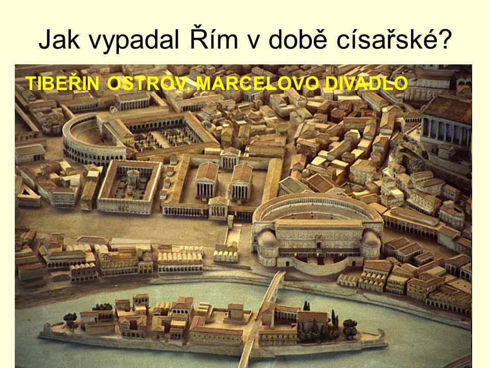 Jak vypadal Řím v době císařské.