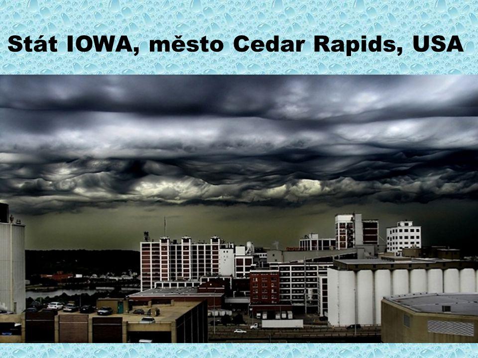 Stát IOWA, město Cedar Rapids, USA