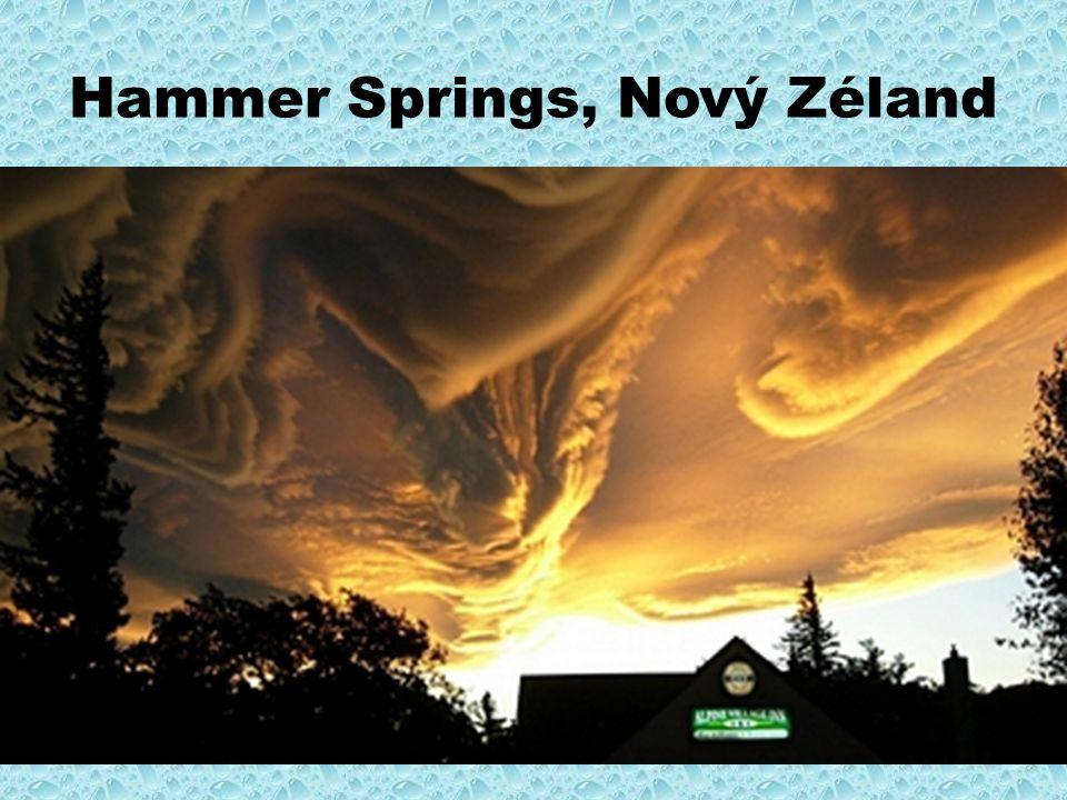 Hammer Springs, Nový Zéland