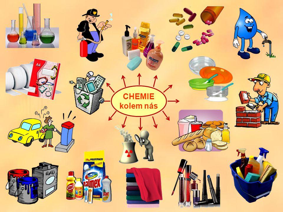 Chemický děj je přeměna výchozích látek na jiné látky.