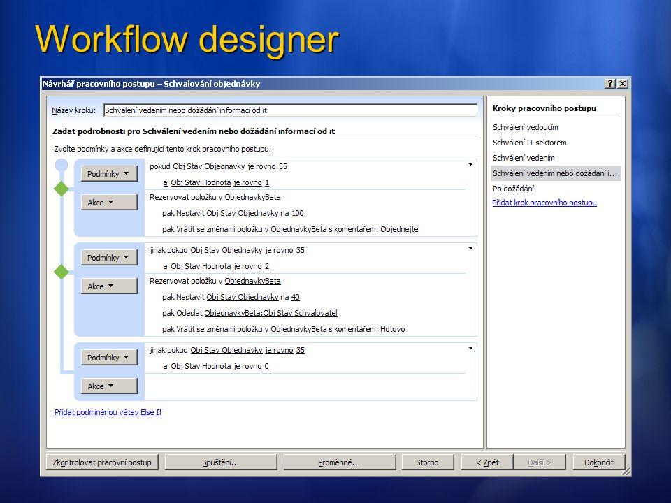 Workflow designer