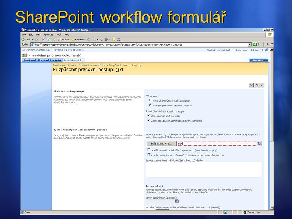UkázkaUkázka Hosting formuláře ve vlastní aplikaci ASP.NET