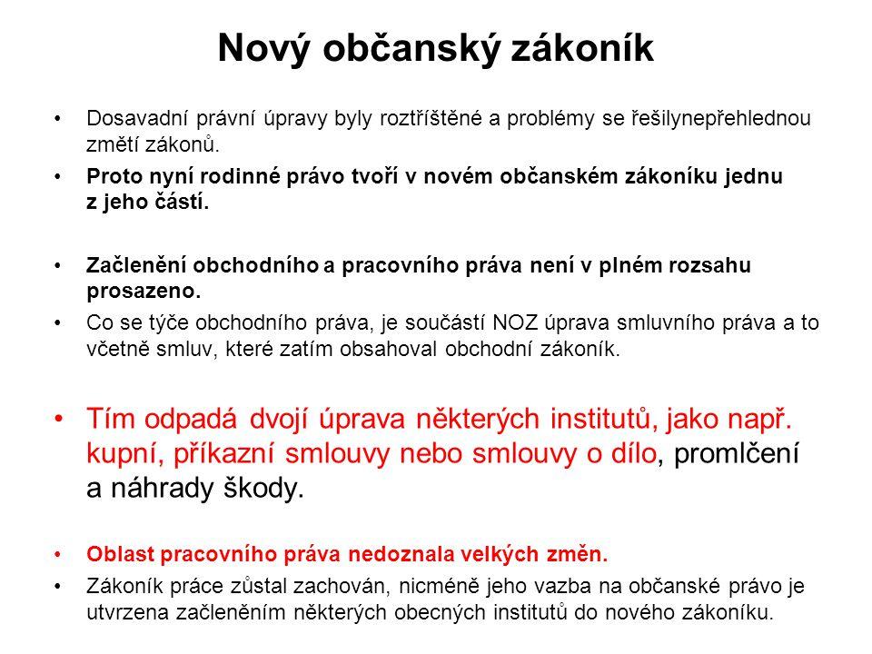 Smlouva o dílo § 2586 a násl.zákona č.