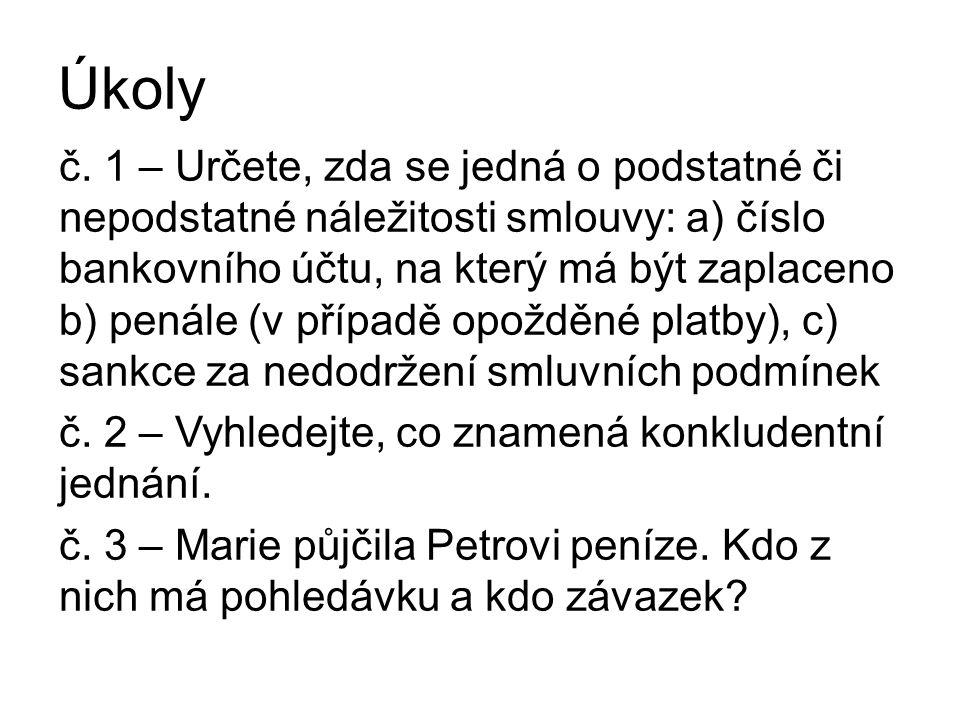 Úkoly č.
