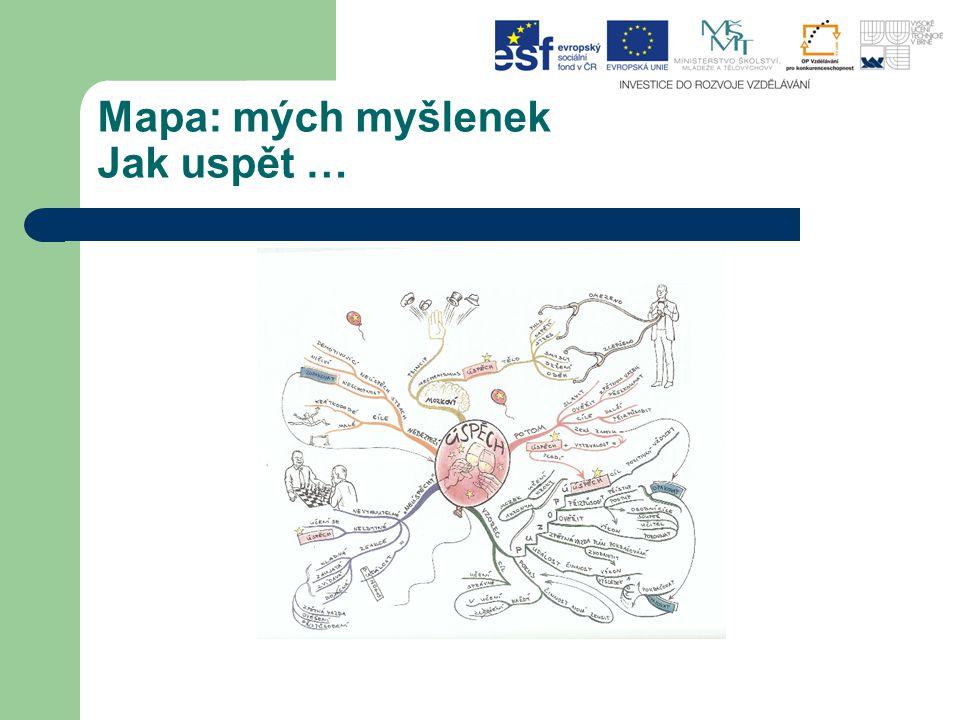 Termín Myšlenková mapa pochází od kanadského psychologa T.