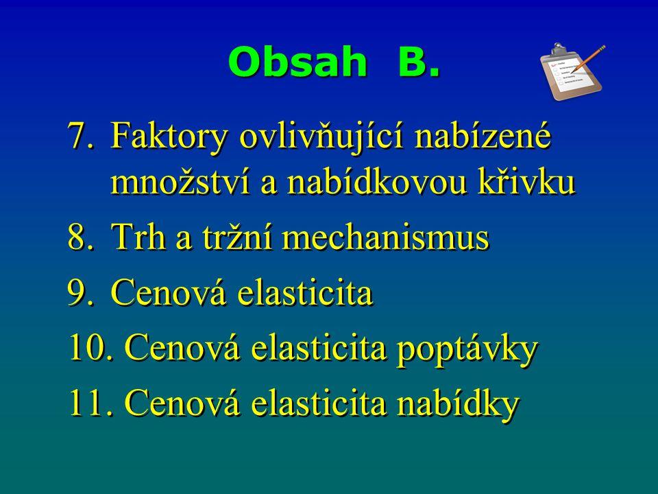 Obsah B.