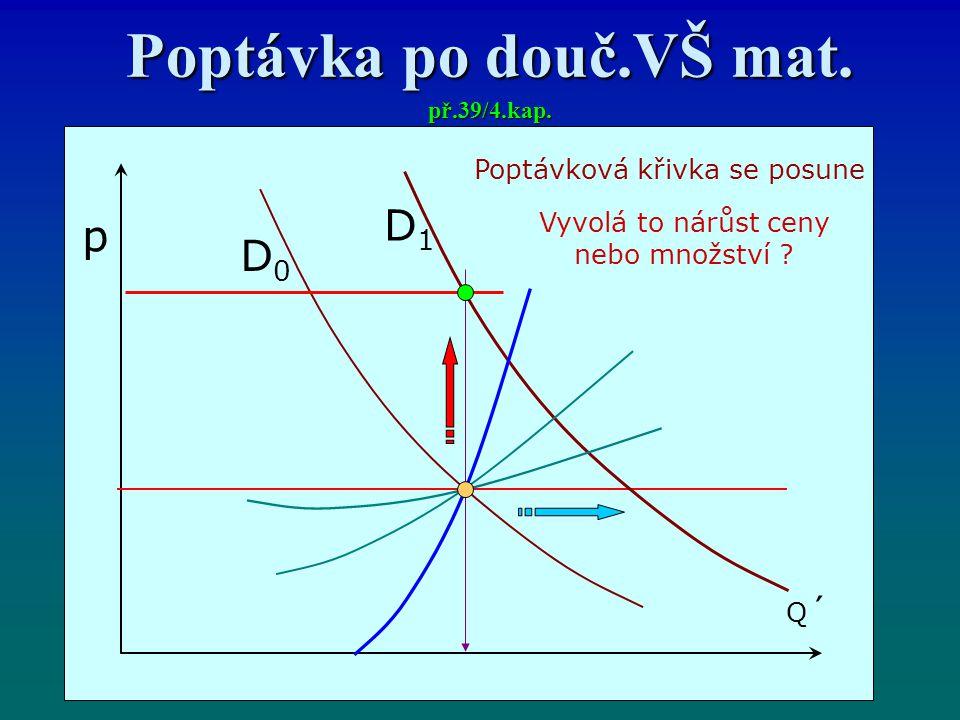 Poptávka po douč.VŠ mat. př.39/4.kap.