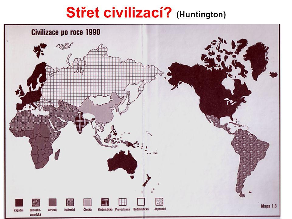 Střet civilizací? (Huntington)