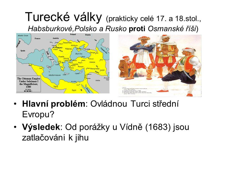 Turecké války (prakticky celé 17.