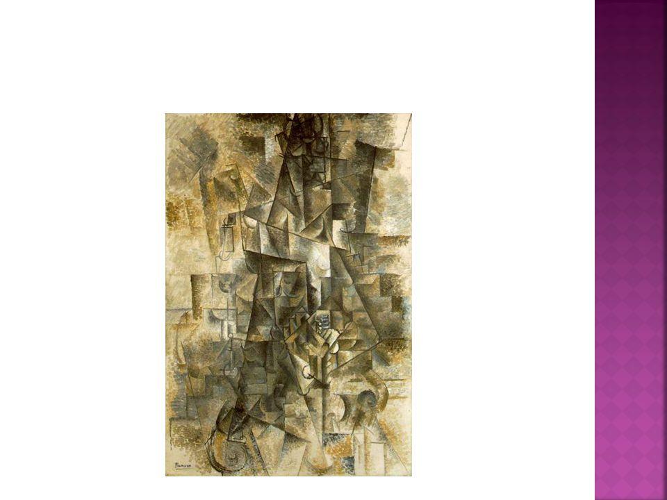  KUBISMUS – Pablo Picasso (Accordéoniste)