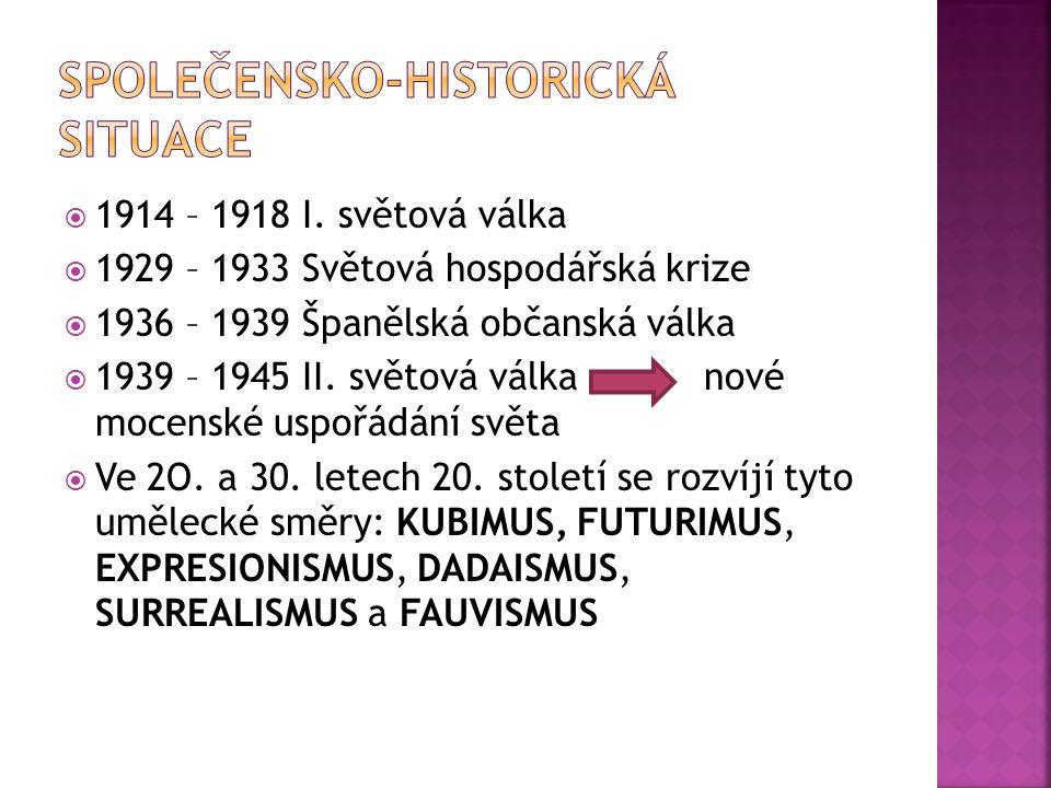  1914 – 1918 I.