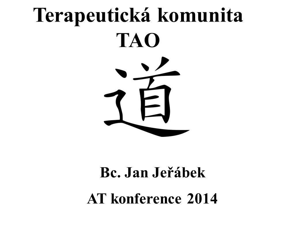 Terapeutická komunita TAO Bc. Jan Jeřábek AT konference 2014