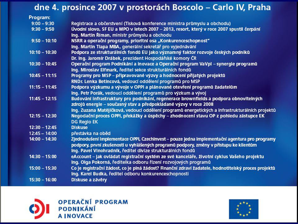 Konference k OPPI, 4.12.