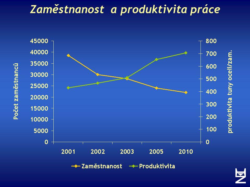 Zaměstnanost a produktivita práce