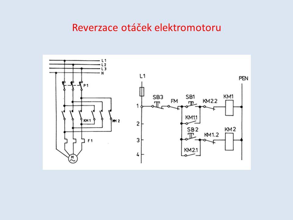 Reverzace otáček elektromotoru