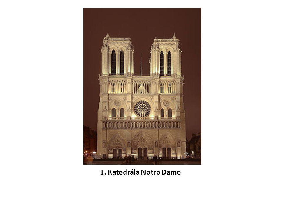 1. Katedrála Notre Dame