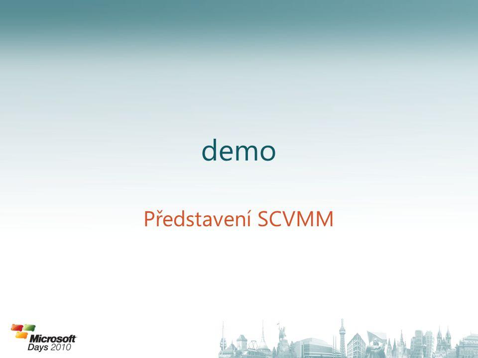 demo Představení SCVMM