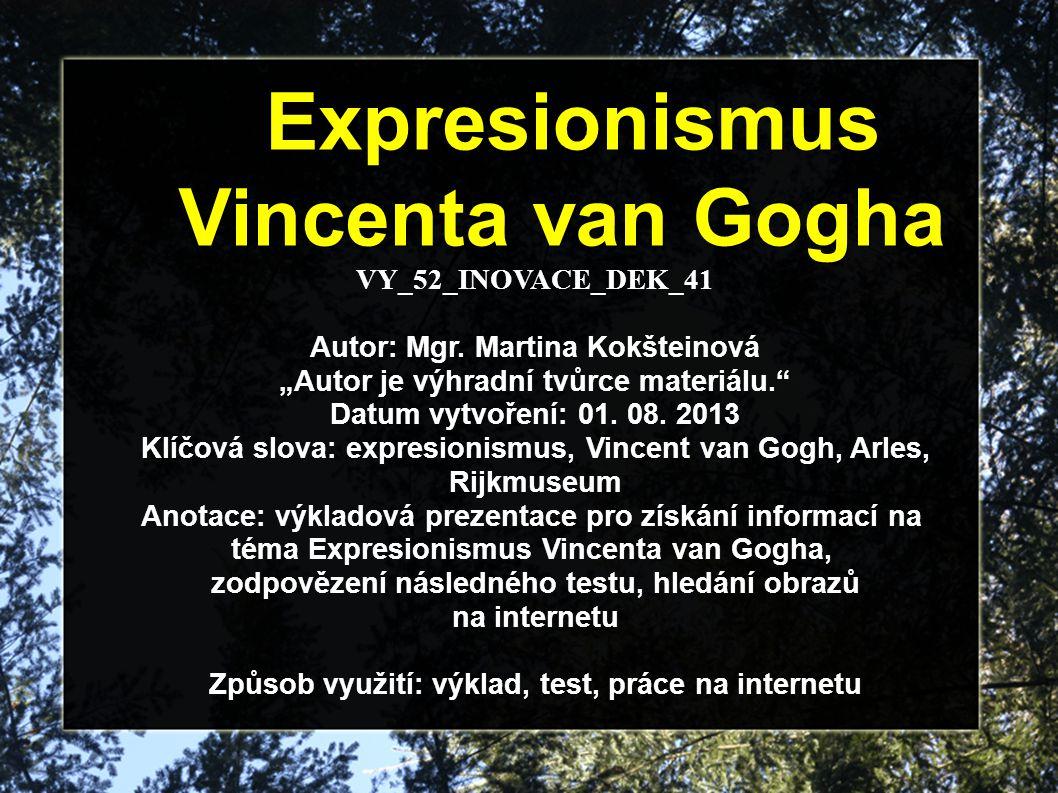 VY_52_INOVACE_DEK_41 Autor: Mgr.