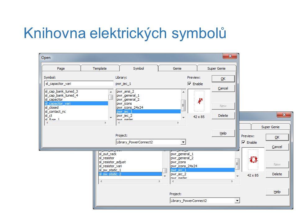 Knihovna elektrických symbolů