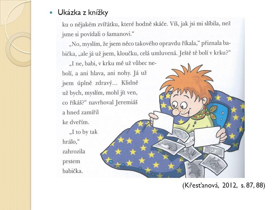 Ukázka z knížky (Křesťanová, 2012, s. 87, 88)
