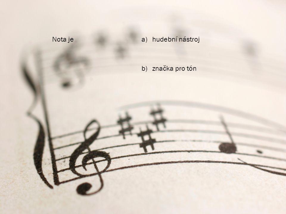 Interpret jea)ten, kdo k písním píše textyten, kdo k písním píše texty b)hudebník, který provádí skladbuhudebník, který provádí skladbu nebo text písně