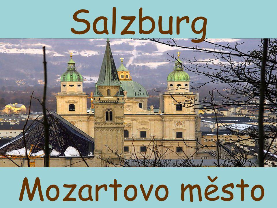 Staré město salzburské historické městské jádro bylo v r.