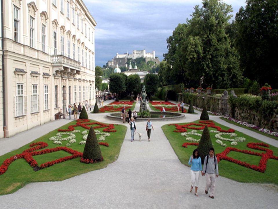 Zahrady v paláci Mirabell