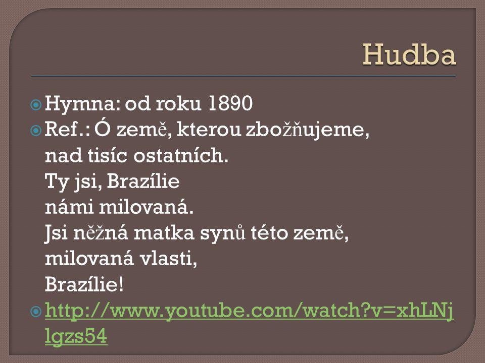  Hymna: od roku 1890  Ref.: Ó zem ě, kterou zbo žň ujeme, nad tisíc ostatních.