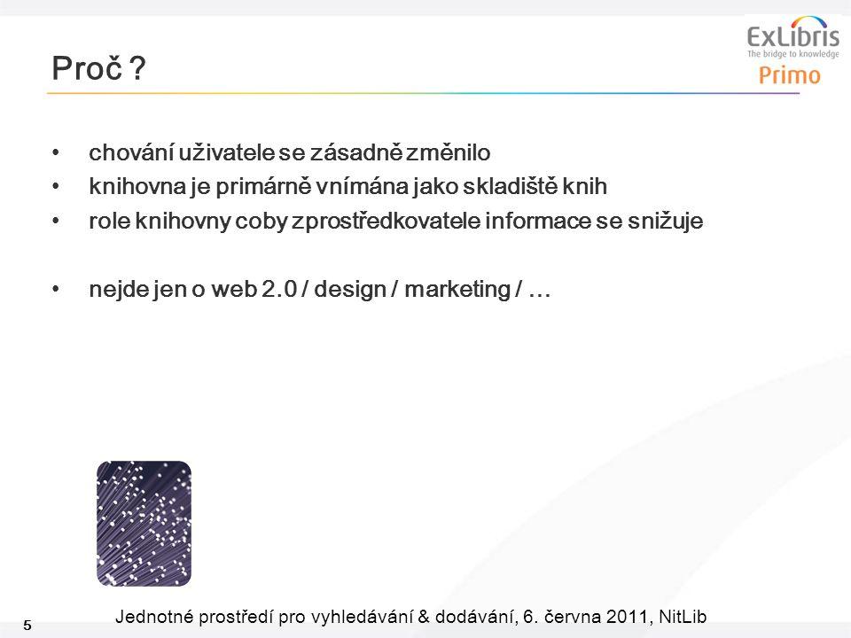 26 Jednotné prostředí pro vyhledávání & dodávání, 6.