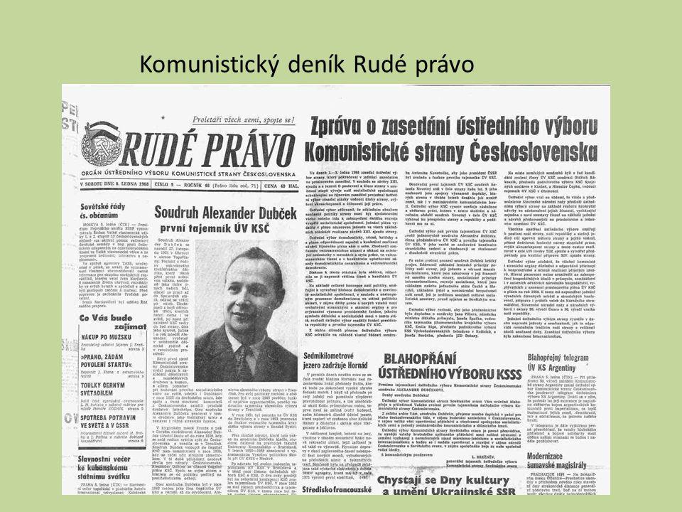 Komunistický deník Rudé právo