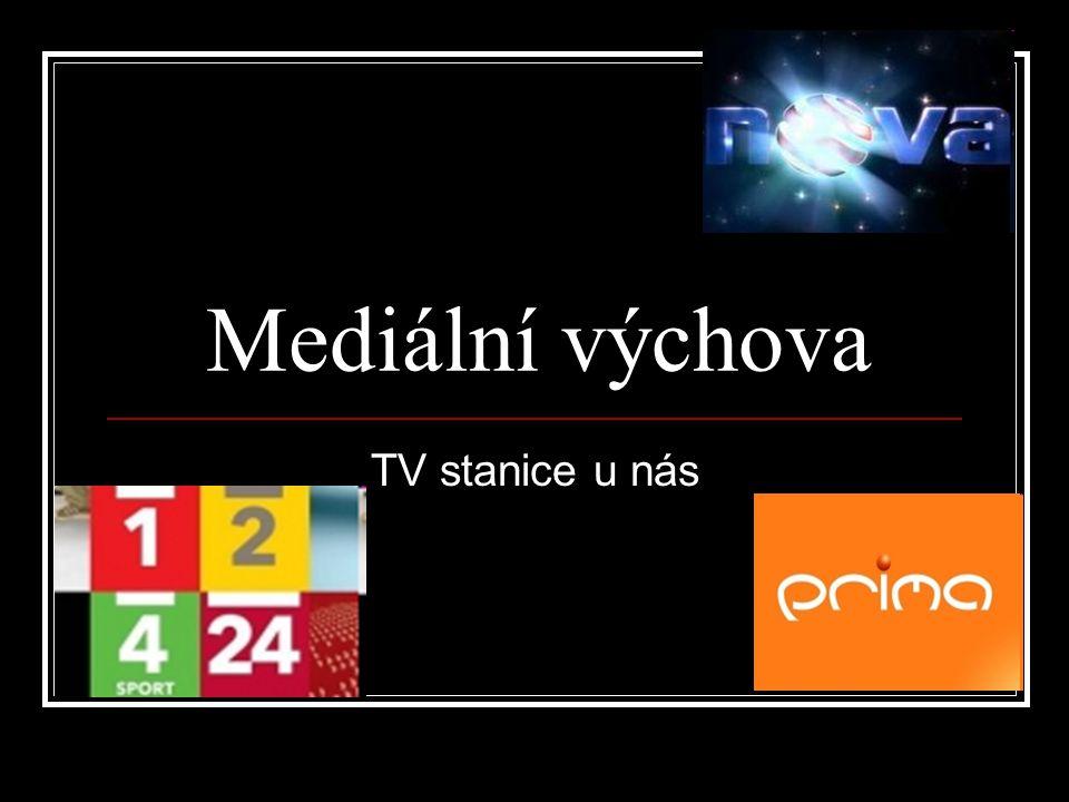 Mediální výchova TV stanice u nás