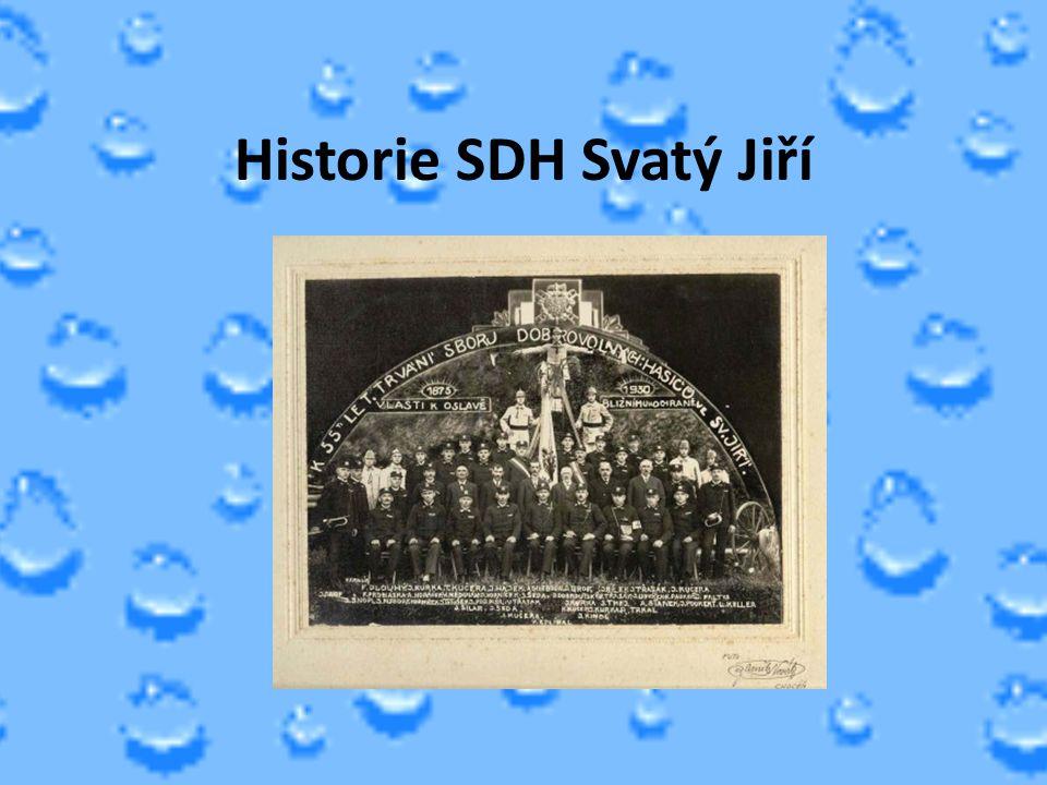 Historie SDH Svatý Jiří