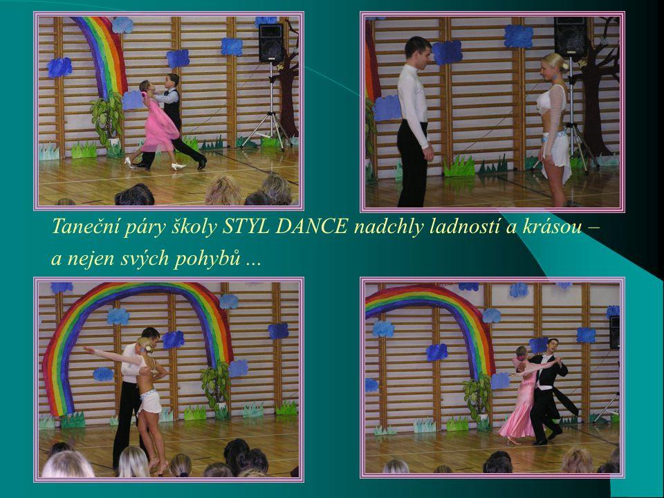 Taneční páry školy STYL DANCE nadchly ladností a krásou – a nejen svých pohybů...