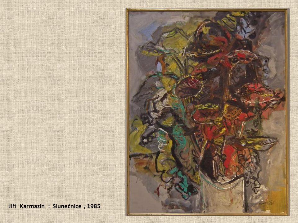 Jiří Karmazín : Slunečnice, 1985