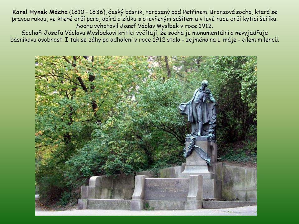 Petřín není jen rozhledna, lanovka či bludiště. Musíme připomenout další monumenty – např. kostel sv. Vavřince a mnoho soch. Jaroslava Vrchlického naj