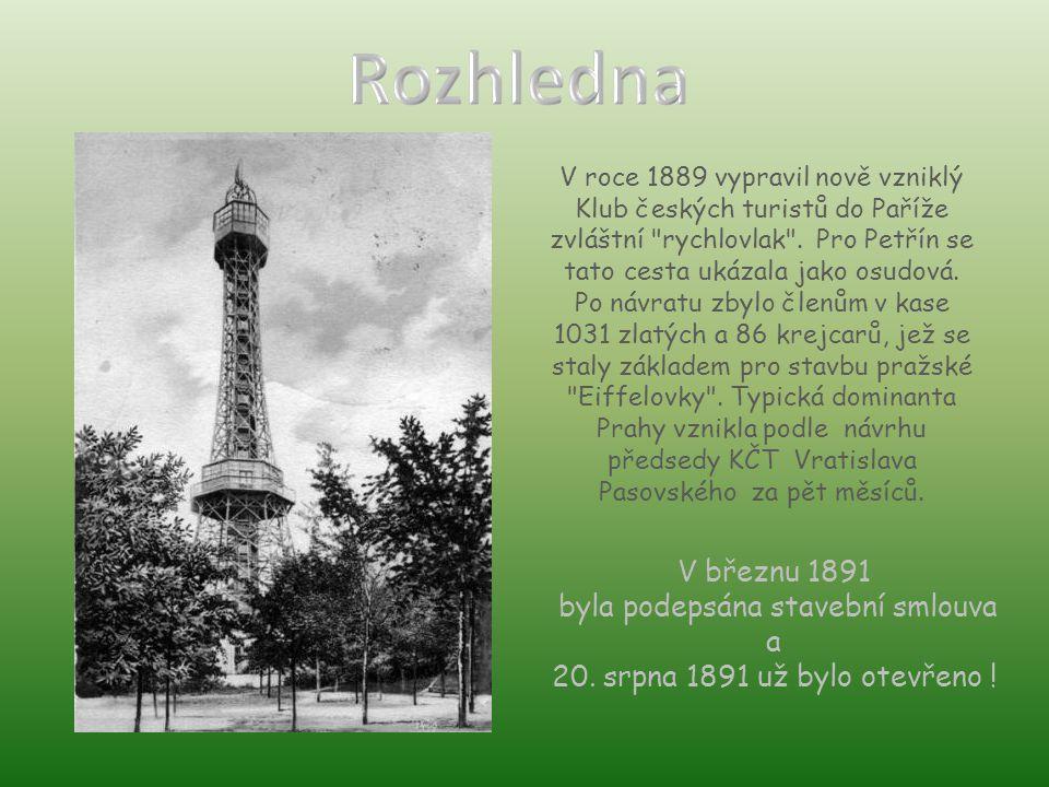 V roce 1889 vypravil nově vzniklý Klub českých turistů do Paříže zvláštní rychlovlak .