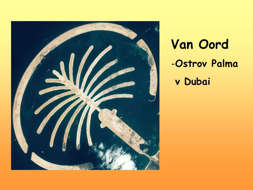 Van Oord -Ostrov Palma v Dubai